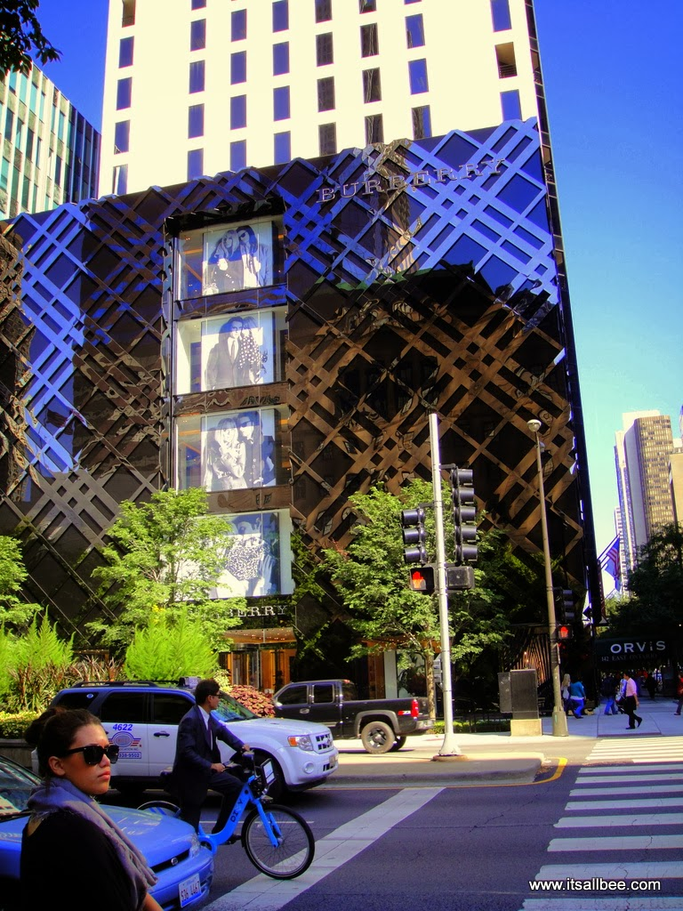 Magnificent Mile Chicago Burberry