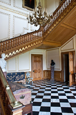 The staircase, Belton House © regencyhistory.net