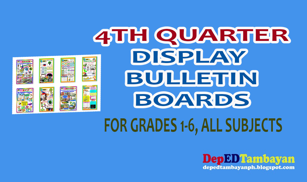 4th Quarter Bulletin Boards