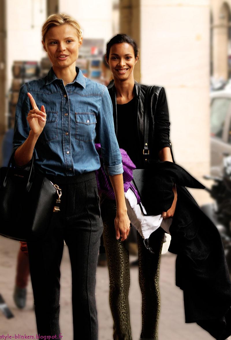 Magdalena Frackowiak and Lais Ribeiro
