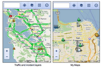 Google Maps for Android and iOS mobile browsers updated