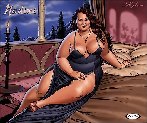 Fotos atractivas de mujeres de talla grande