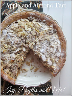 APPLE AND ALMOND TART