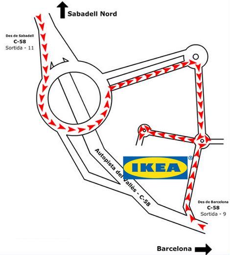 Inaguraci n ikea sabadell redise a tu mundo - Ikea como llegar ...