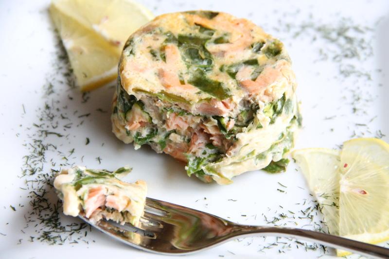 Kuchnia w wersji light: Zapiekanka z łososia