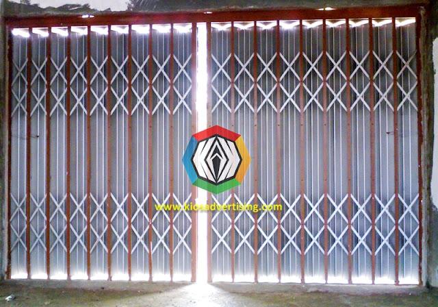 Jasa Pengecatan Pintu Ruko Folding Gate Ruko di Malang