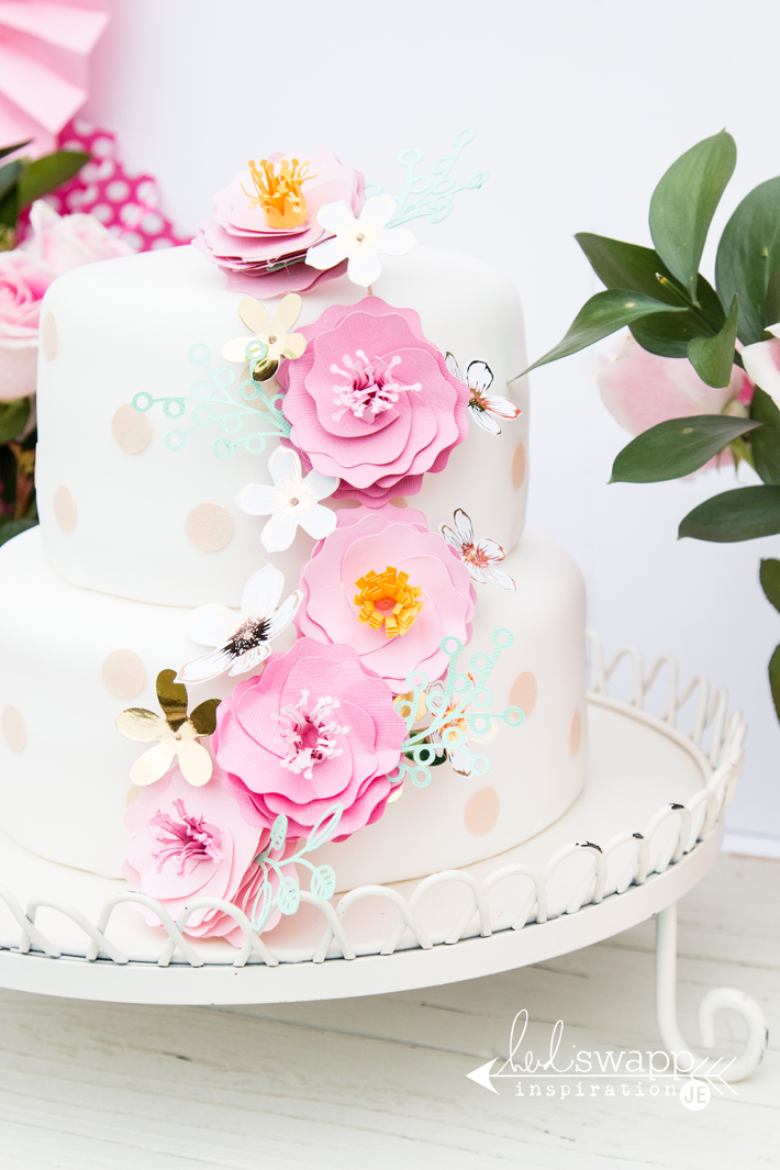 Heidi Swapp Birthday Cake Flowers Create Often