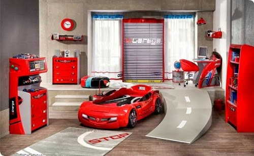 cool car beds for kids theme design ideas