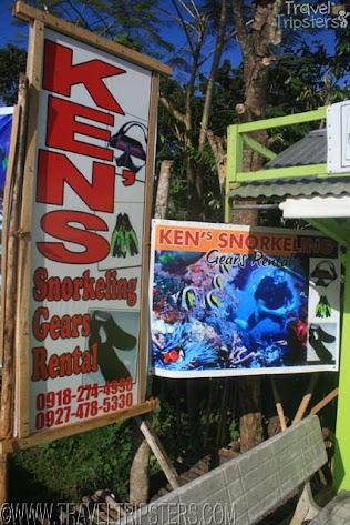 kens snorkeling gears rental