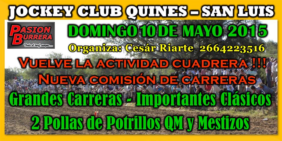 QUINES - 3 DE MAYO