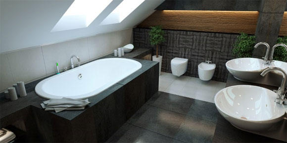Minimalist Bathtub Design 2016