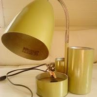 Særegen skrivebordslampe