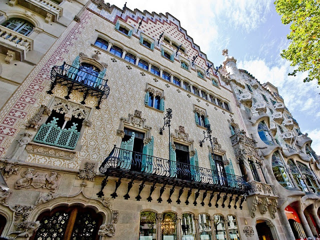 Casa Amatller em Barcelona