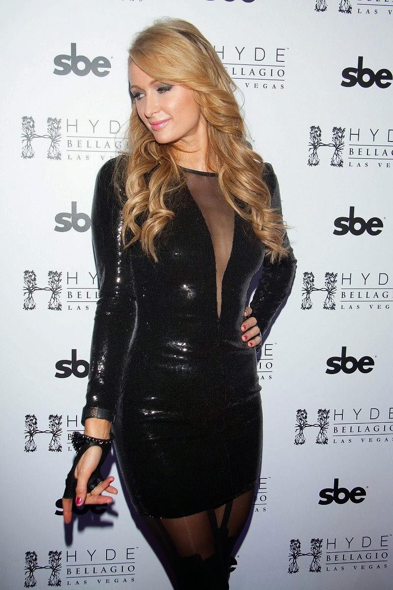 Paris Hilton Spicy Photos at Hyde Bellagio Las Vegas