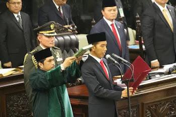 Selamat Atas Pelantikan Jokowi sebagai Presiden RI ke-7