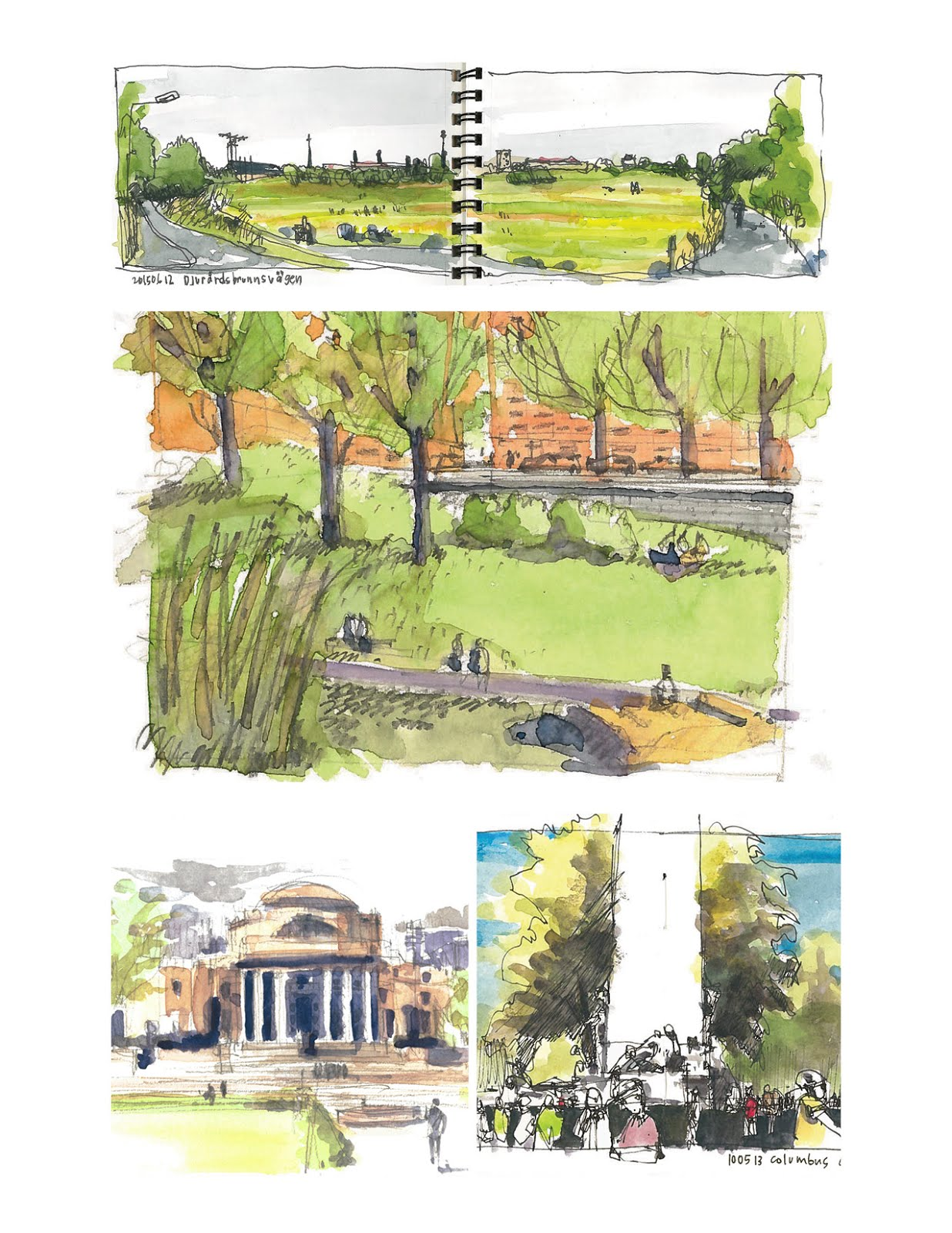 Workshop 19: Manchester Green: Sketching Urban Green Space | Urban ...