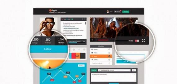 Free RockMedia Media UI Kit