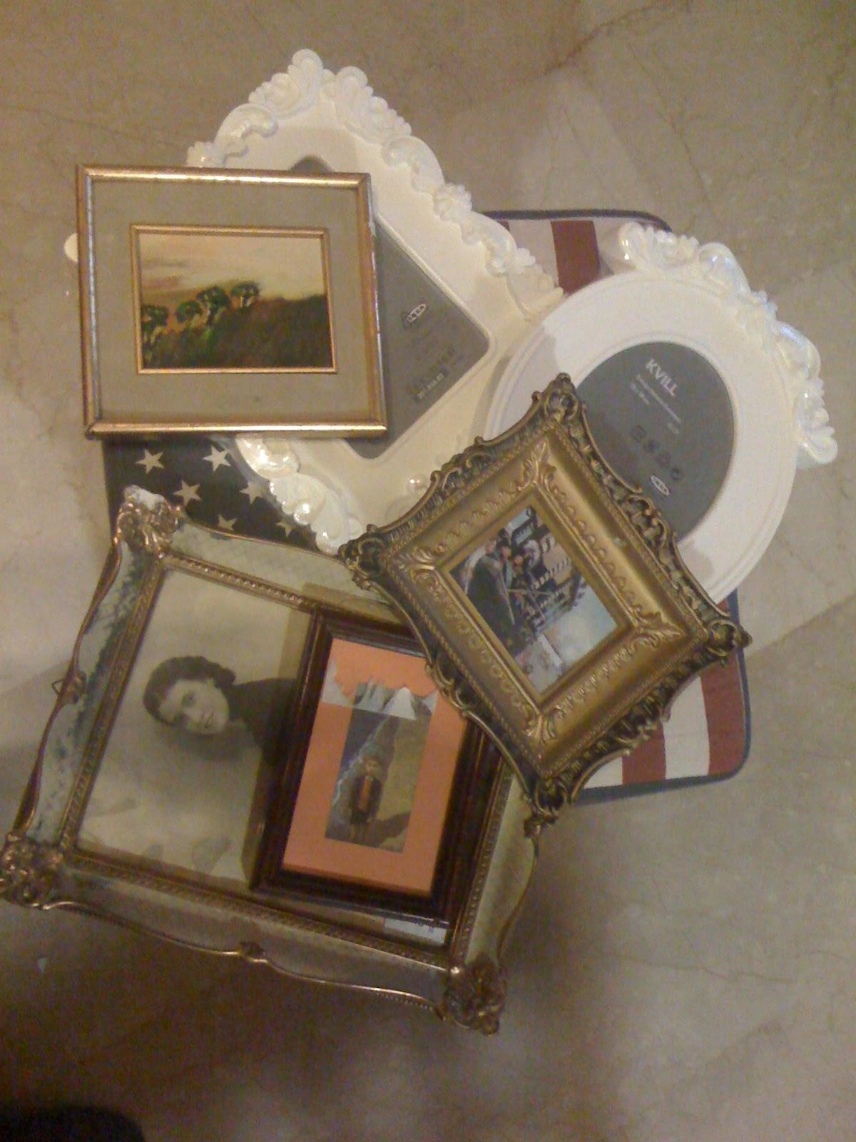 Il baule delle idee cornici vecchie cornici pop for Cornici per foto 10x15