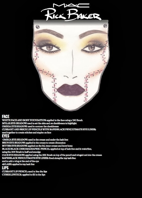 MAC Rick Baker Collection Halloween 2013