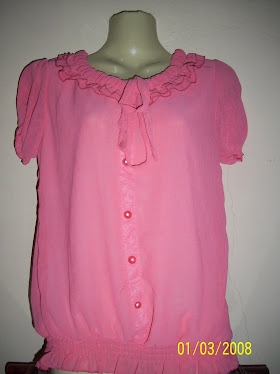 Pink Short Blouse - FR 06