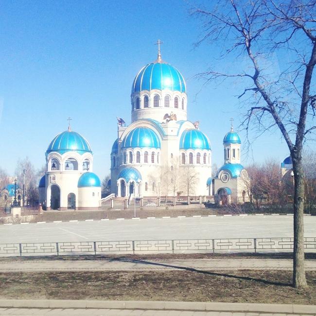 Instagram @lelazivanovic. Moscow in spring.Moskva u prolece.