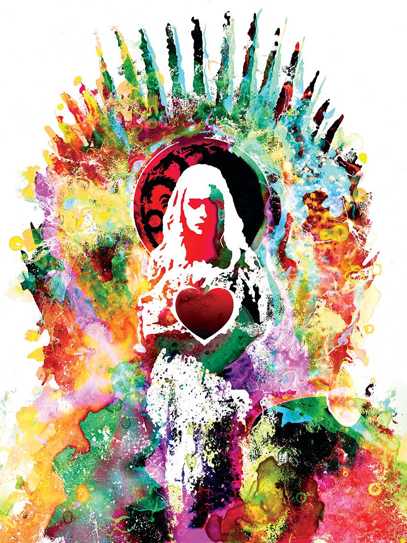 Inside The Rock Poster Frame Blog Jacob Bannon Heart