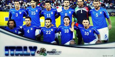 Skuad Terbaru Italia di Piala Eropa 2012