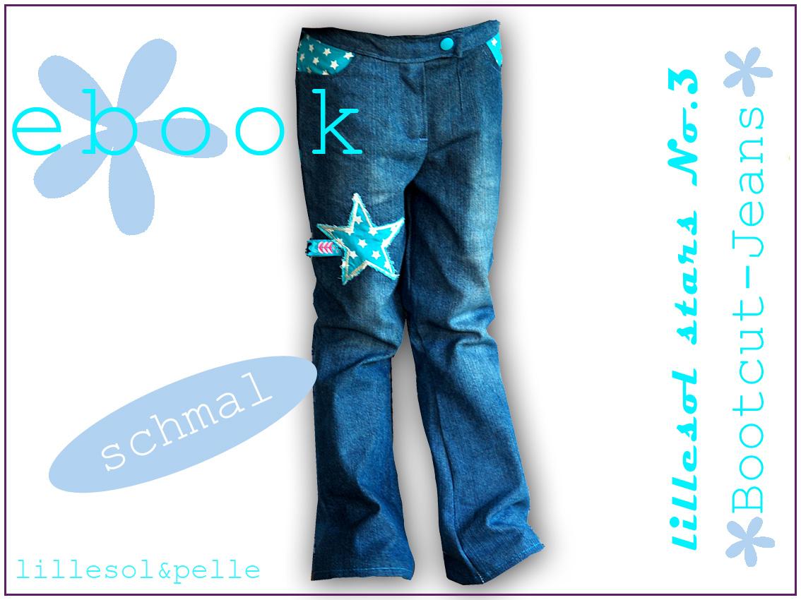 NEU Bootcut-Jeans Ebook + Tutorial Jeans bleichen | lillesol & pelle ...