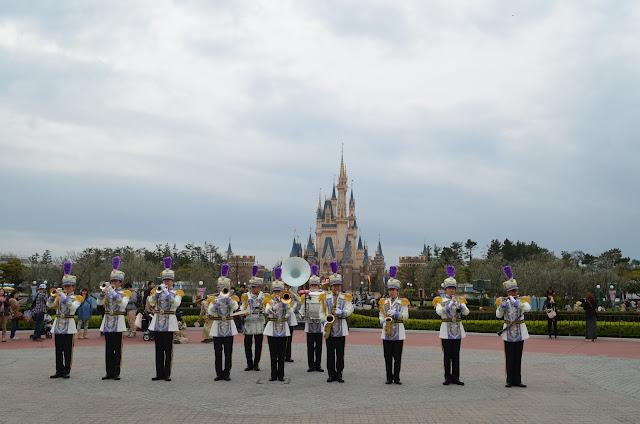 Parade in front of Cindrella Castle, Tokyo Disneyland