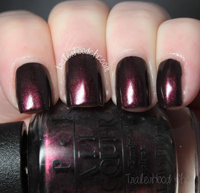 opi san francisco muir muir on the wall swatch