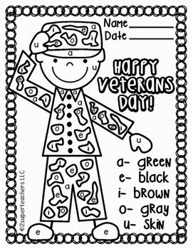 The book bug veterans day resources for Coloring pages veterans day