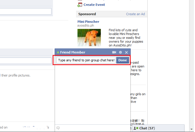 That's how to make a group Chat on Facebook Instantly without many ...
