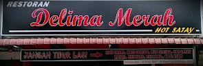 Restoran Delima Merah - Hot Satay