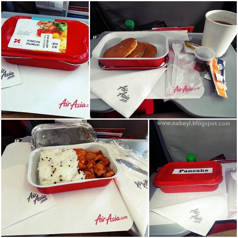 Nabil aizat bin abdul rahman my maiden flight to another for Airasia japanese cuisine