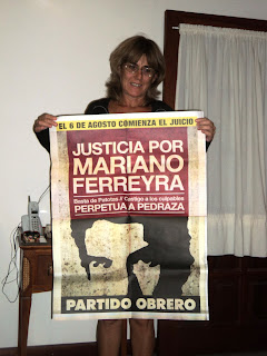LETICIA RAMALLO, BIOQUÍMICA, TAMBIÉN QUIERE JUSTICIA POR MARIANO