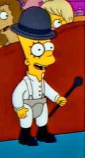 Bart Simpson Naranja Mecanica