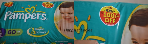 Pampers Large diapers