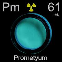 Prometyum Elementi Simgesi Pm