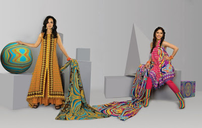 Wardha Saleem Lawn Spring Dress Collection 2011