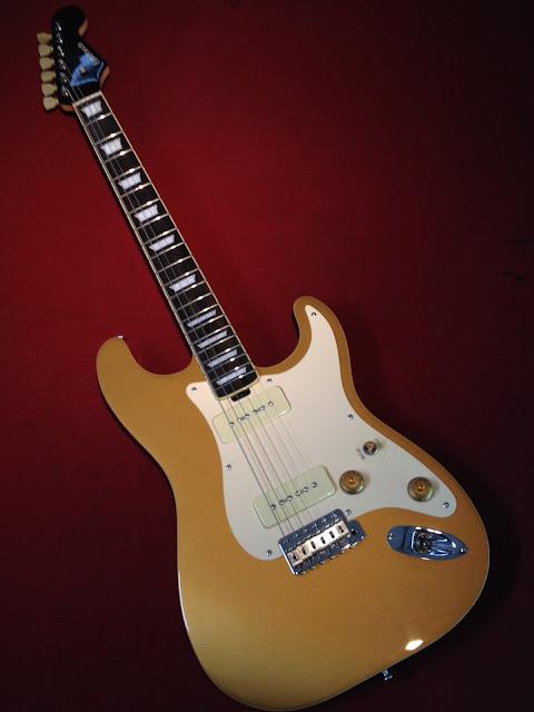 大野楽器オリジナルギター ストラトポール 楽器フェア展示モデル