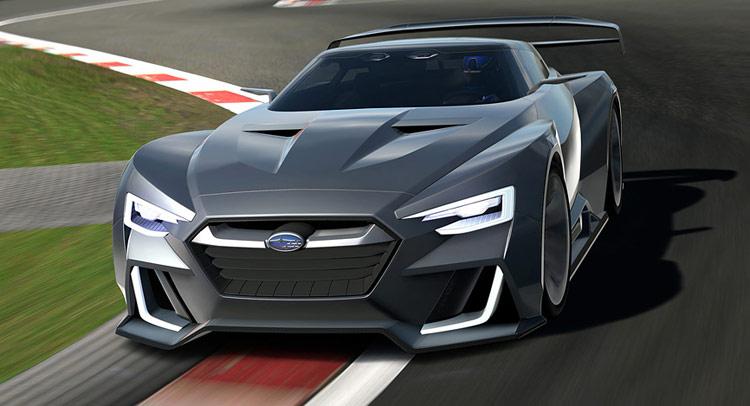 This Is Subaru S Viziv Gt Vision Concept 40 Pics Amp Video