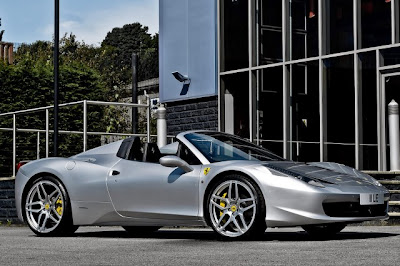 Ferrari 458 Italia Spider por Kahn design