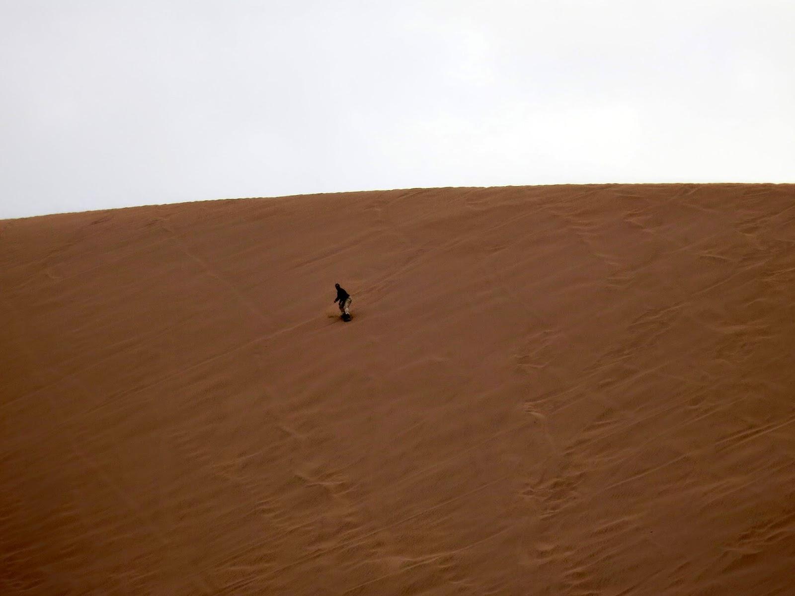 Sandboarding en San Pedro de Atacama