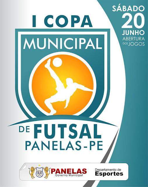 I COPA MUNICIPAL DE FUTSAL em Panelas-PE