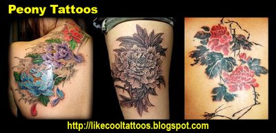 Symbolic Meaning of Peony Tattoos