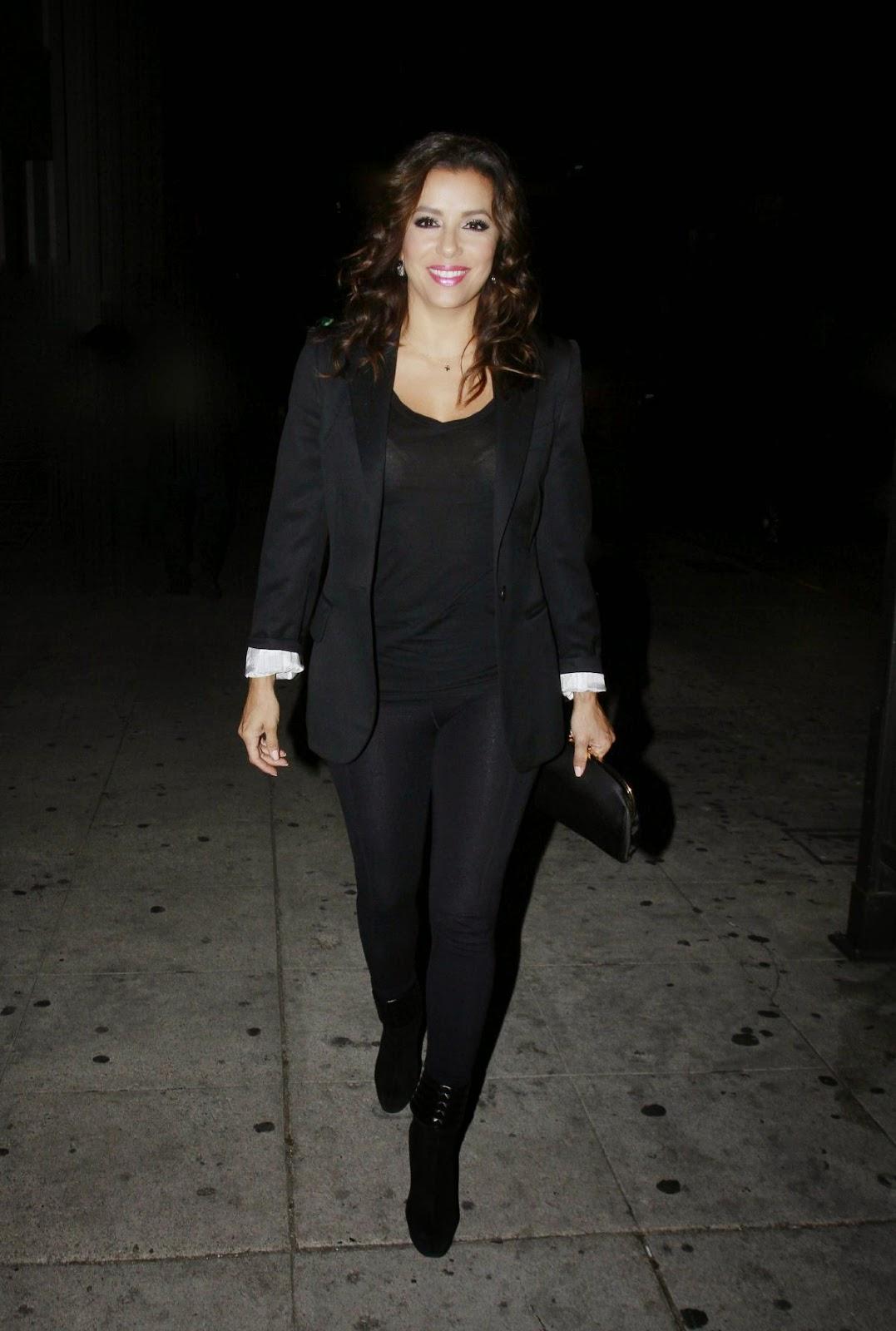 Actress @ Eva Longoria - Leaving A Concert In Los Angeles