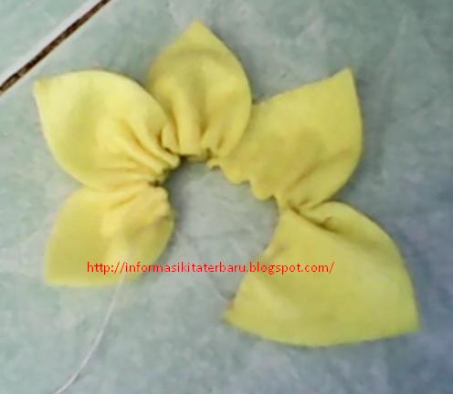 Cara membuat bros dari kain flanel yang mudah dan lucu terbaru
