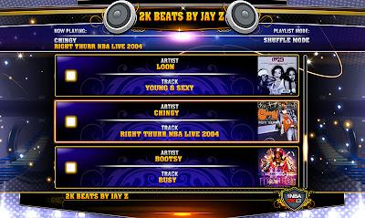 NBA 2K13 Game Soundtracks Mod (NBA Live Music)
