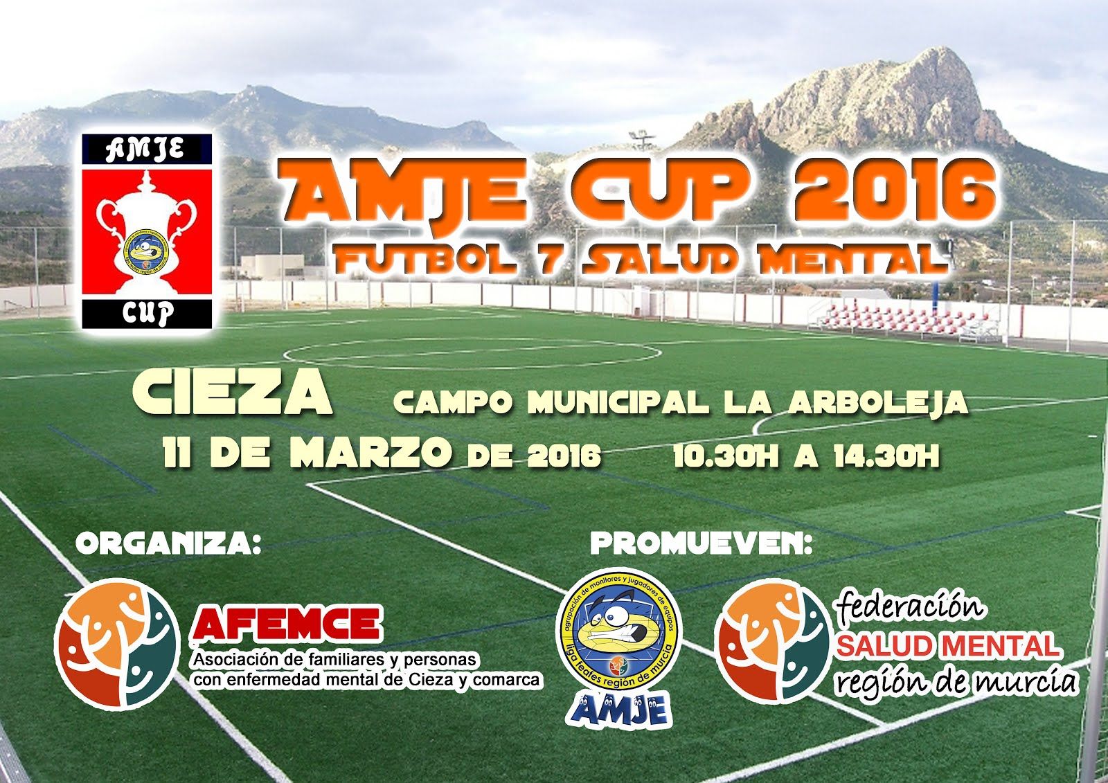 CARTEL DE LA AMJE CUP 2016