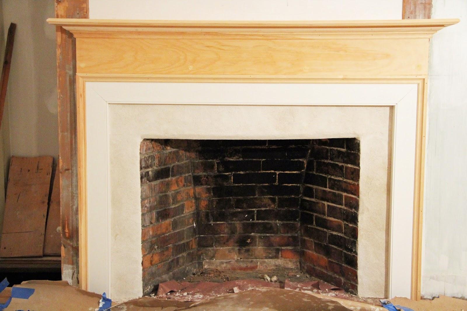 in the fields a bedroom fireplace restored